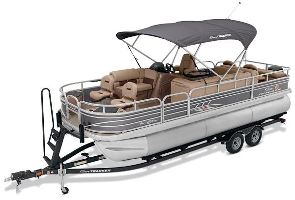 2021 Sun Tracker boat for sale, model of the boat is Fishin' Barge 22 XP3 & Image # 6 of 71