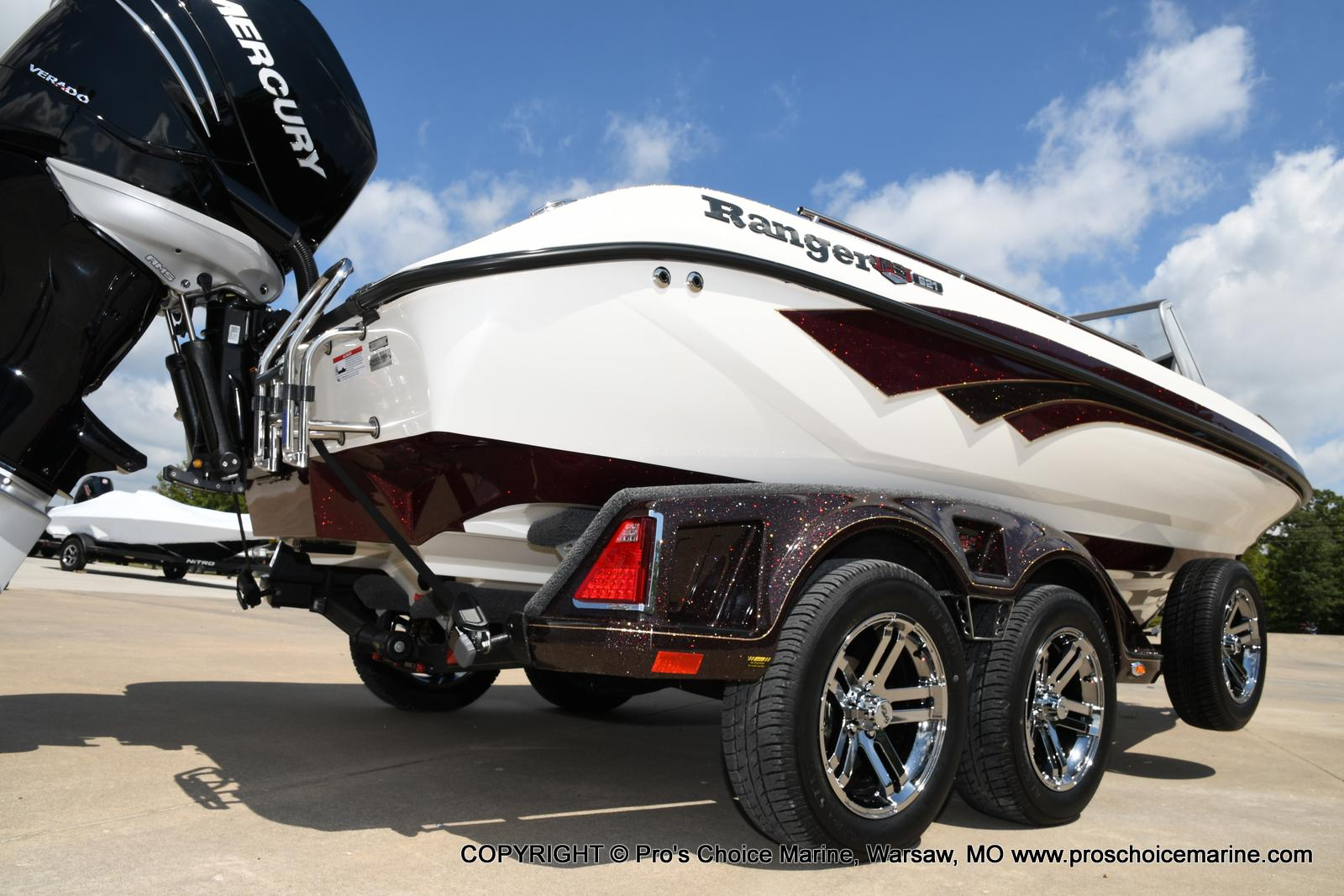 2021 Ranger Boats boat for sale, model of the boat is 621FS PRO w/400HP VERADO & Image # 17 of 50