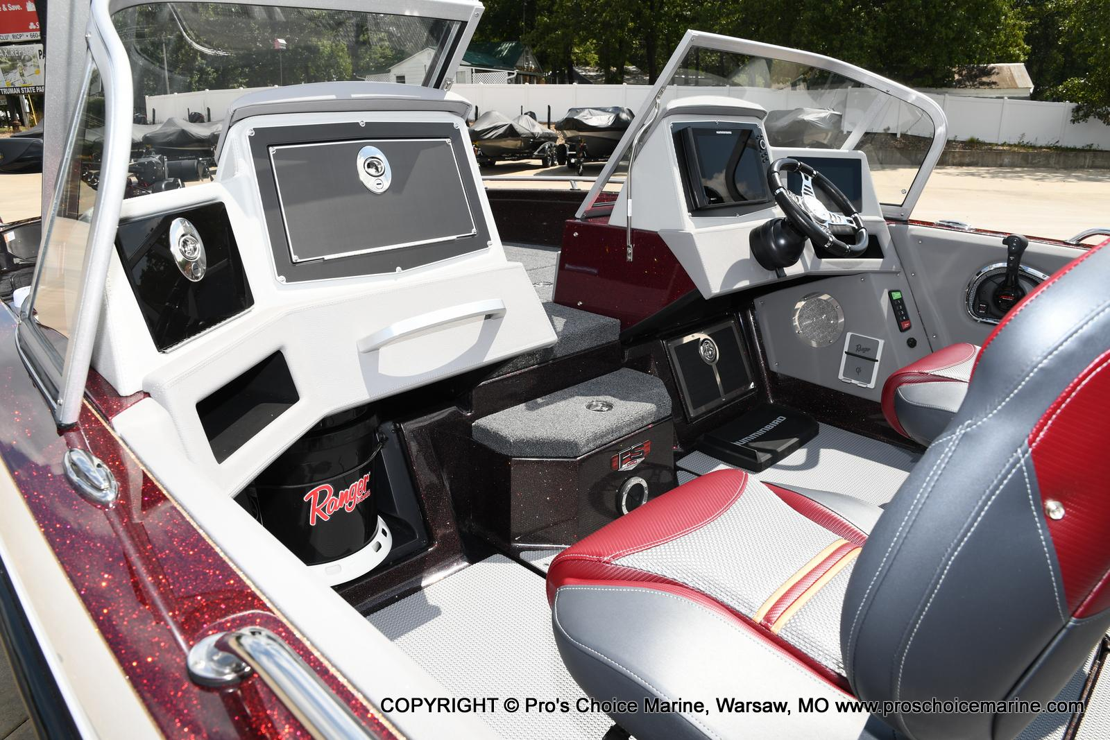 2021 Ranger Boats boat for sale, model of the boat is 621FS PRO w/400HP VERADO & Image # 9 of 50