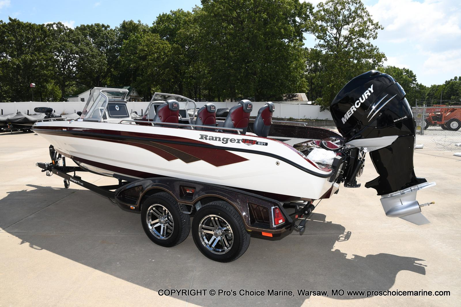 2021 Ranger Boats boat for sale, model of the boat is 621FS PRO w/400HP VERADO & Image # 46 of 50