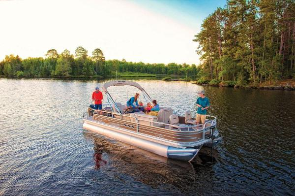 2021 Sun Tracker boat for sale, model of the boat is Fishin' Barge 24 XP3 & Image # 3 of 81