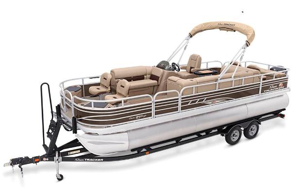 2021 Sun Tracker boat for sale, model of the boat is Fishin' Barge 24 XP3 & Image # 10 of 81