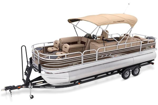 2021 Sun Tracker boat for sale, model of the boat is Fishin' Barge 24 XP3 & Image # 11 of 81