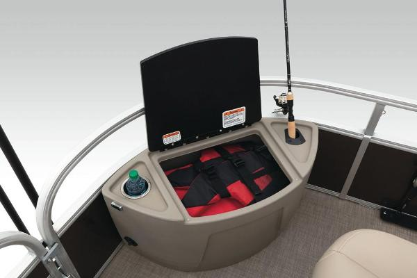2021 Sun Tracker boat for sale, model of the boat is Fishin' Barge 24 XP3 & Image # 31 of 81