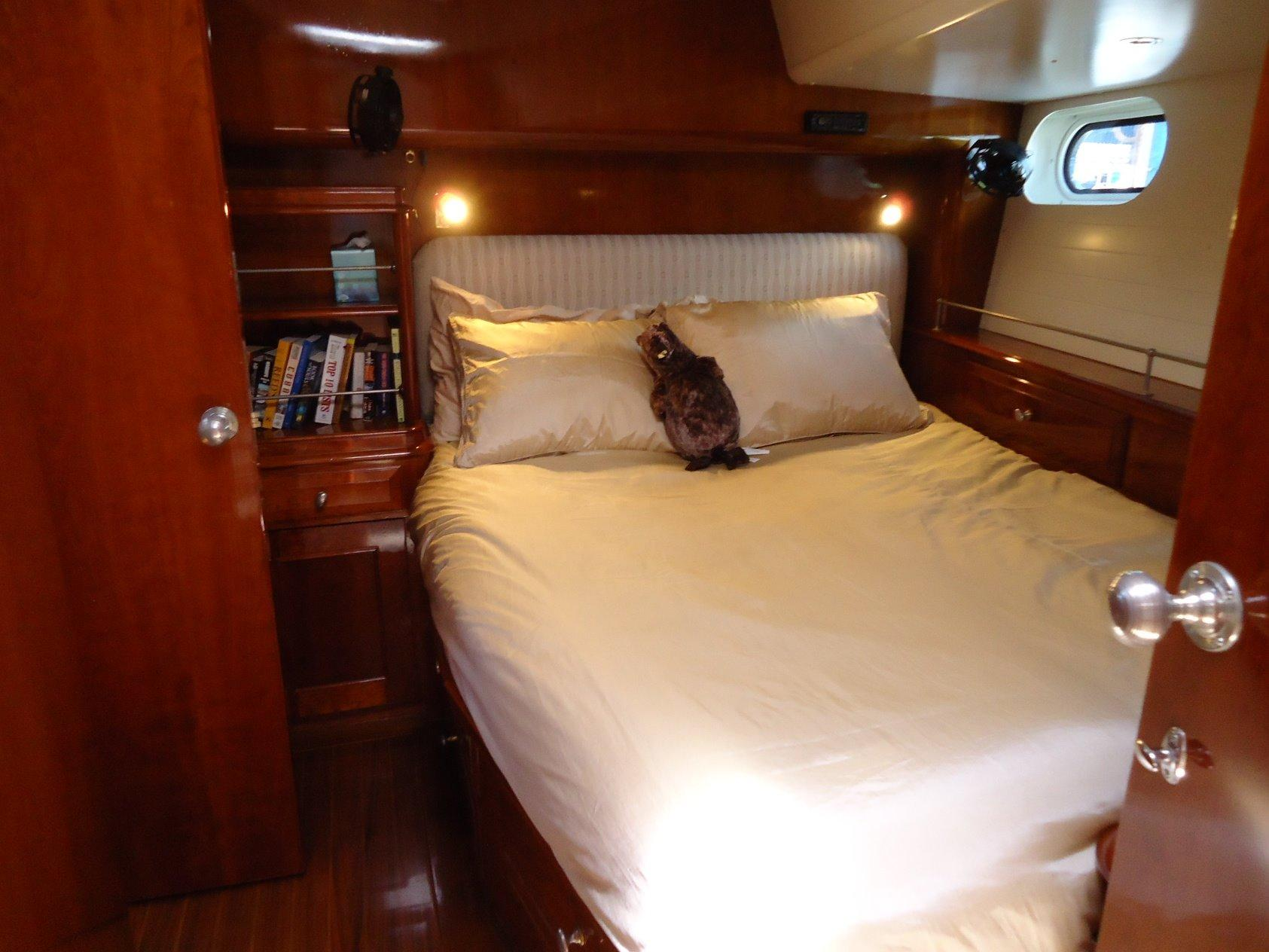 VIP Cabin with ensuite Head