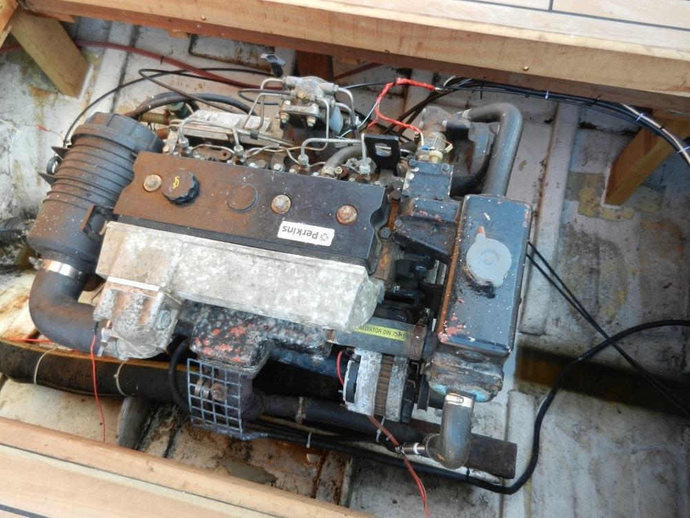 Perkins 86HP diesel