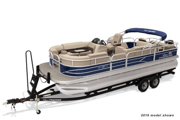 2021 Sun Tracker boat for sale, model of the boat is SportFish 22 DLX & Image # 1 of 5