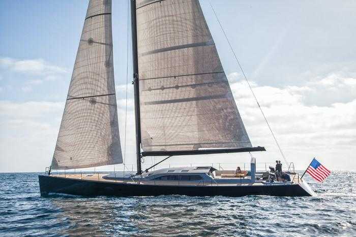 1996 Goetz / Derektor Custom Sparkman & Stephens Designed Performance Sailing Yacht