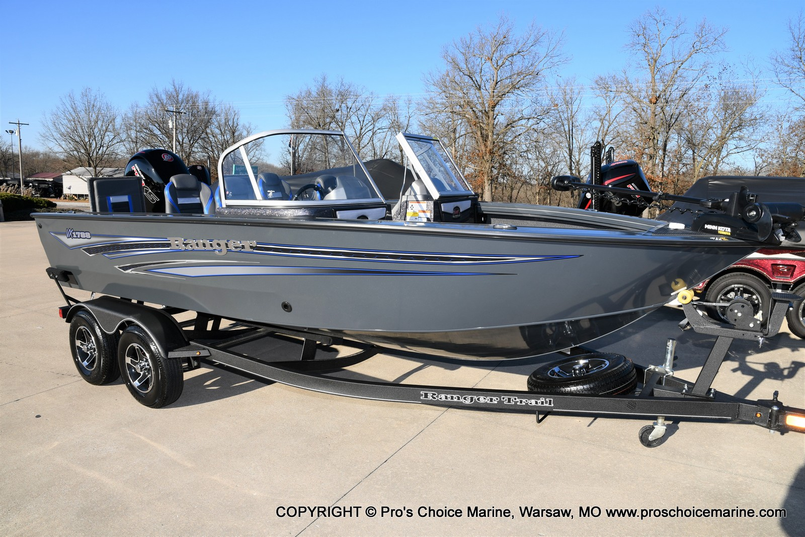 2021 Ranger Boats boat for sale, model of the boat is VX1788 WT w/150HP Pro-XS 4 Stroke & Image # 1 of 50