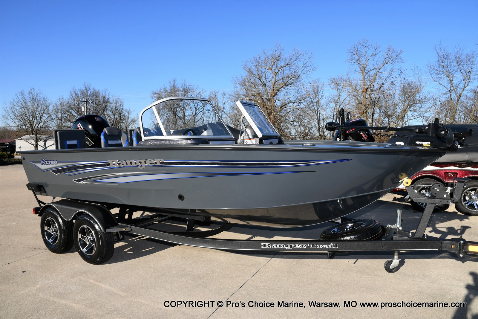 2021 Ranger Boats boat for sale, model of the boat is VX1788 WT w/150HP Pro-XS 4 Stroke & Image # 2 of 50