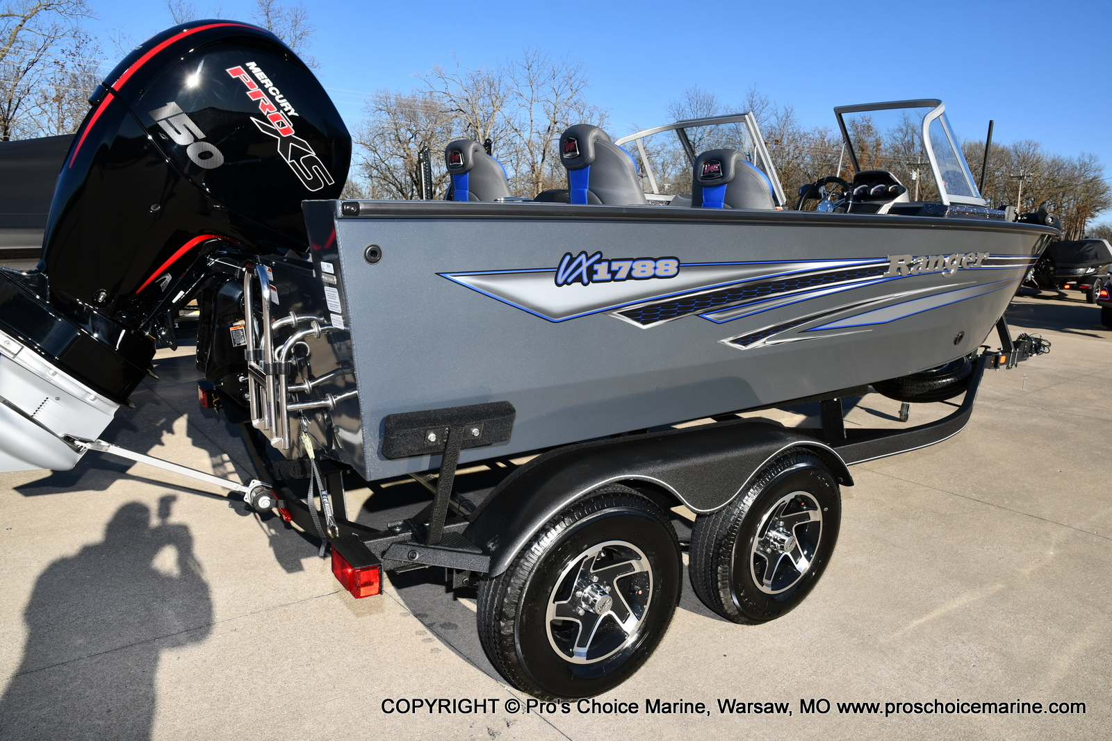 2021 Ranger Boats boat for sale, model of the boat is VX1788 WT w/150HP Pro-XS 4 Stroke & Image # 35 of 50