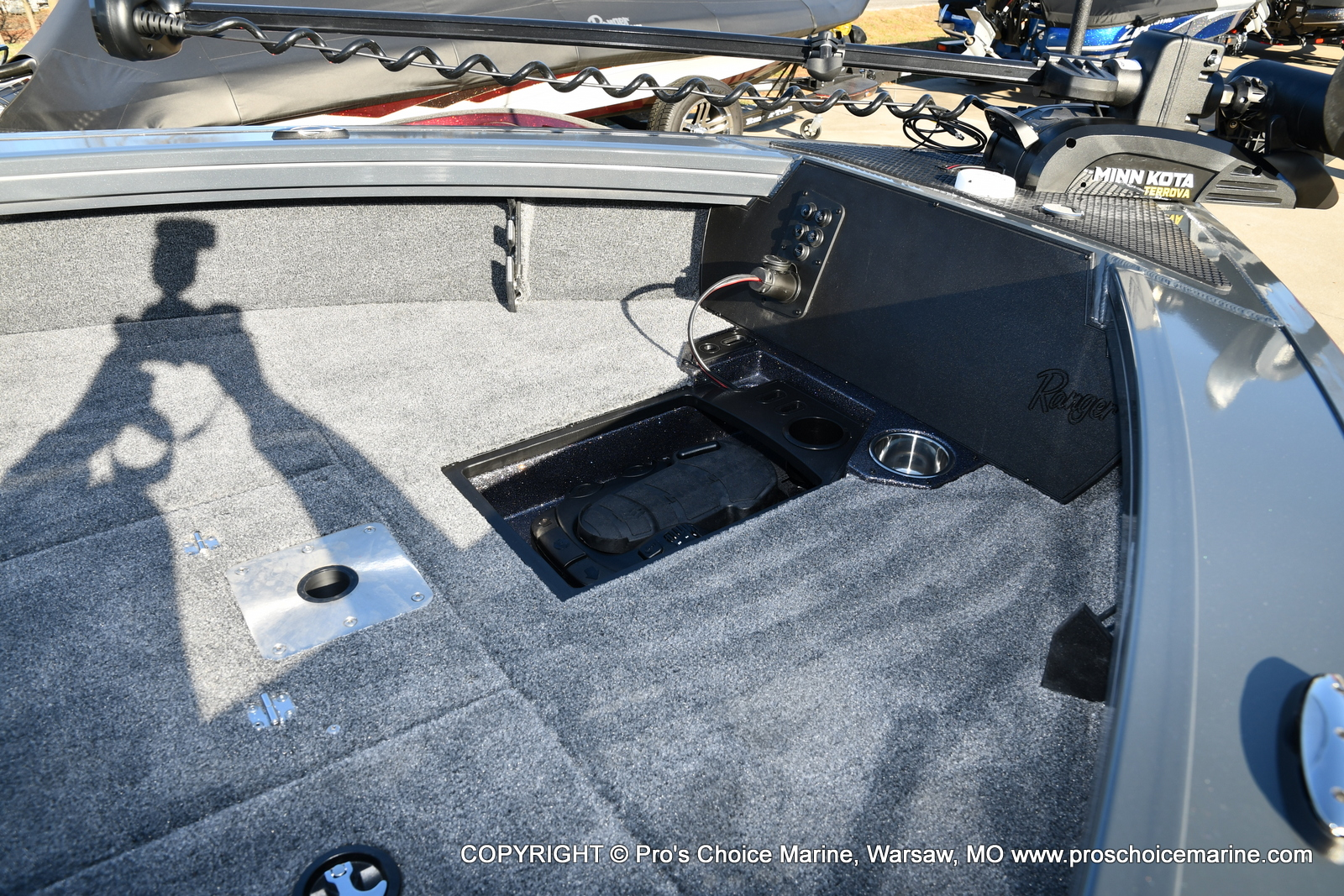 2021 Ranger Boats boat for sale, model of the boat is VX1788 WT w/150HP Pro-XS 4 Stroke & Image # 28 of 50