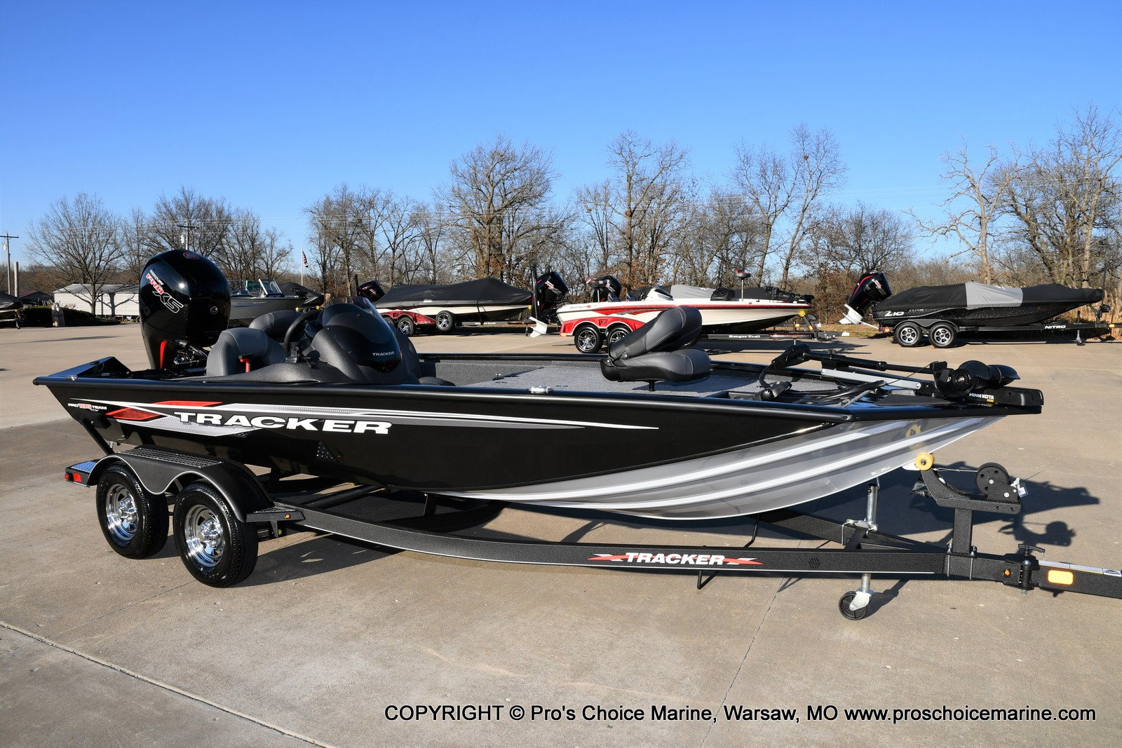 2021 Tracker Boats boat for sale, model of the boat is PRO TEAM 195 TXW w/150HP Pro-XS & Image # 1 of 50