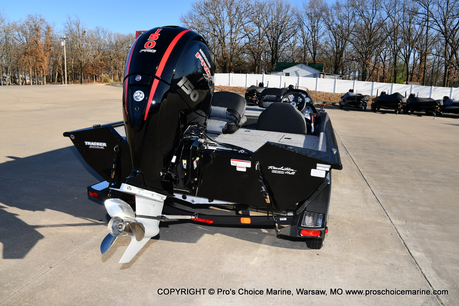 2021 Tracker Boats boat for sale, model of the boat is PRO TEAM 195 TXW w/150HP Pro-XS & Image # 3 of 50