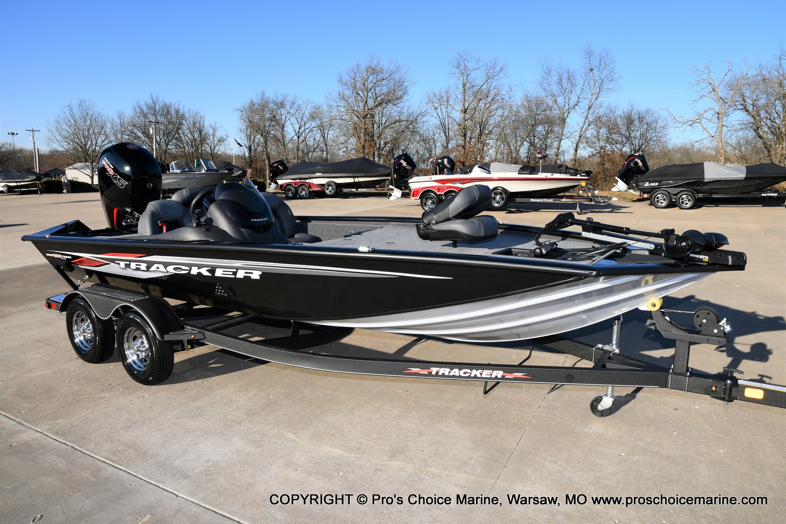 2021 Tracker Boats boat for sale, model of the boat is PRO TEAM 195 TXW w/150HP Pro-XS & Image # 41 of 50