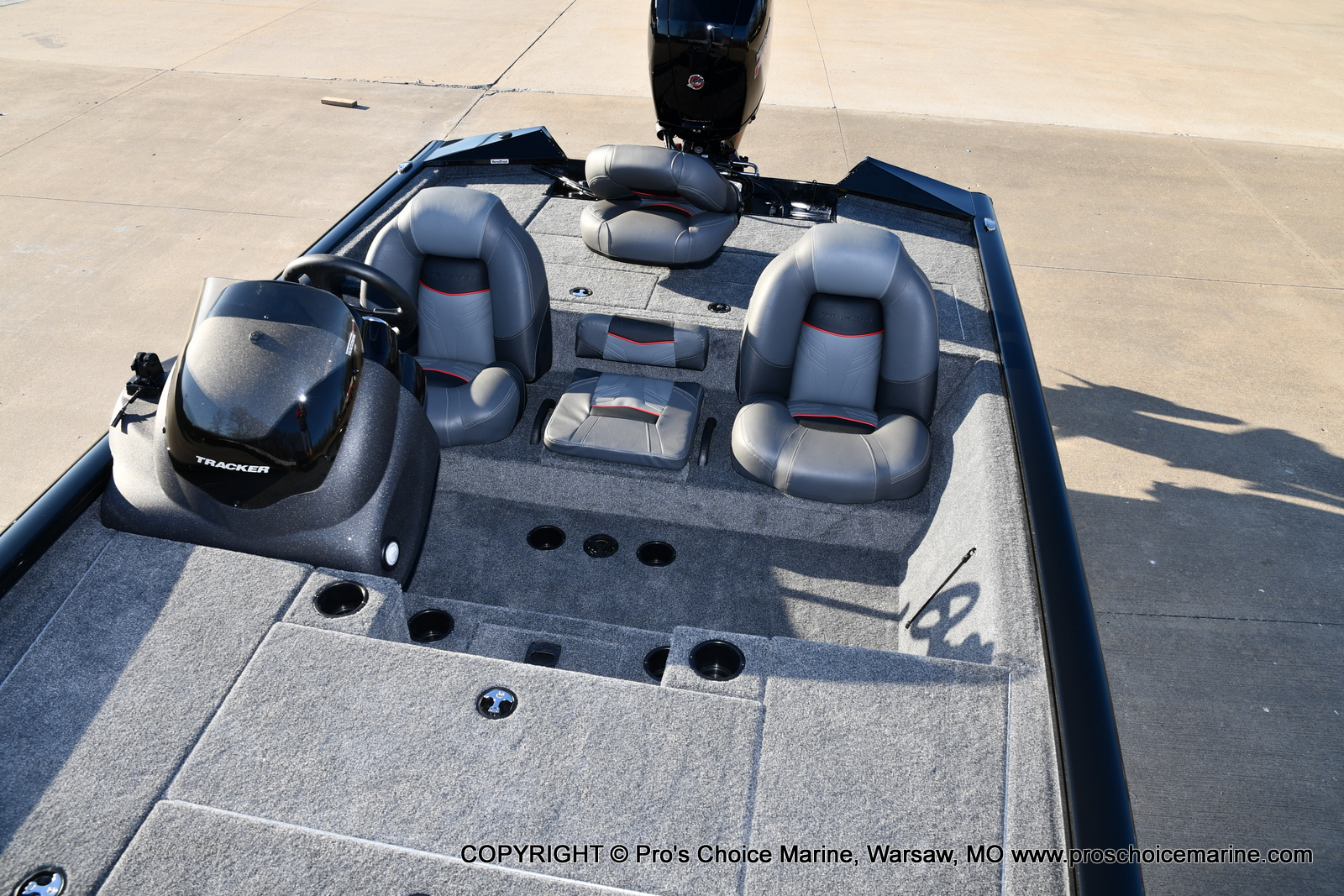 2021 Tracker Boats boat for sale, model of the boat is PRO TEAM 195 TXW w/150HP Pro-XS & Image # 50 of 50