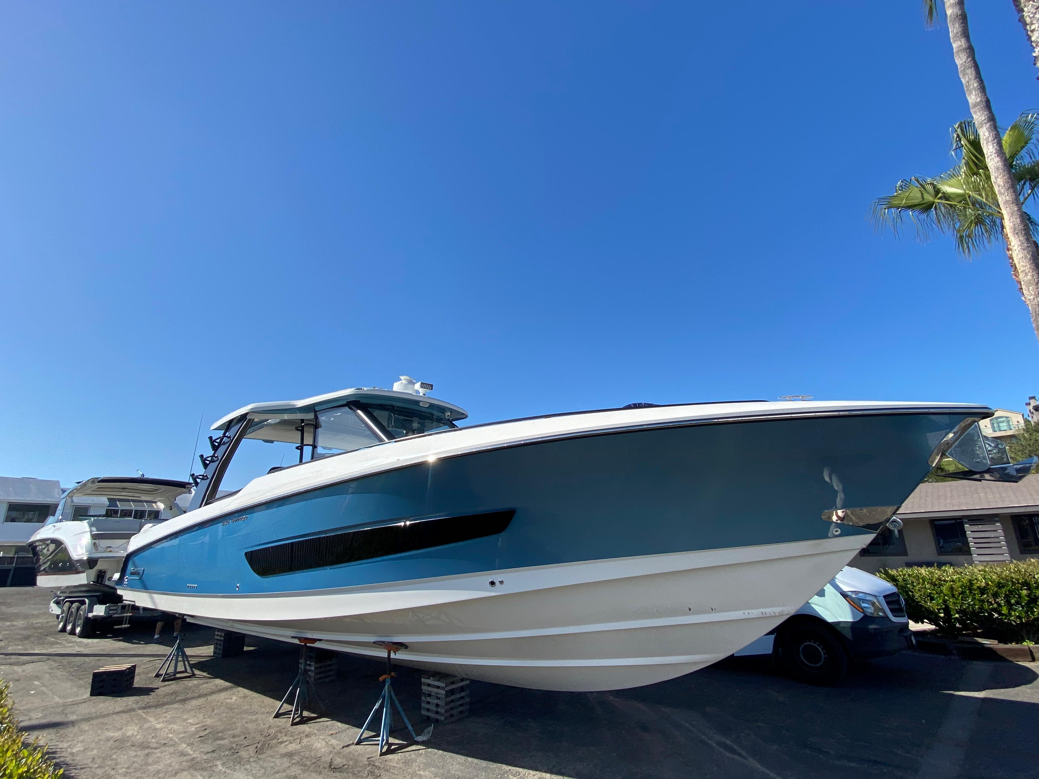 2021 Boston Whaler 420 Outrage #BW1149K inventory image at Sun Country Coastal in Newport Beach