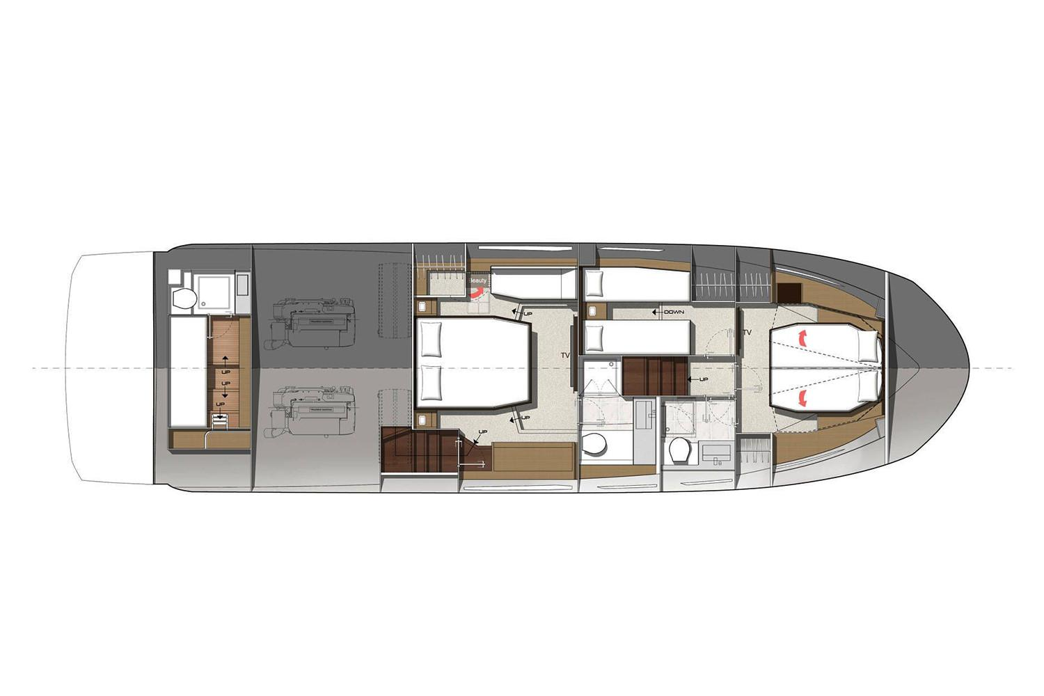 2022 Prestige 520 #76240 inventory image at Sun Country Coastal in Newport Beach