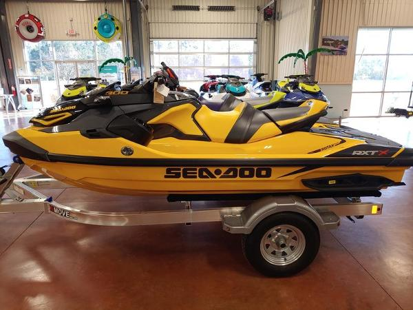 2021 Sea Doo PWC boat for sale, model of the boat is RXT®-X® 300 Millenium Yellow & Image # 2 of 4