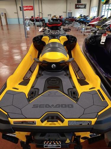 2021 Sea Doo PWC boat for sale, model of the boat is RXT®-X® 300 Millenium Yellow & Image # 3 of 4