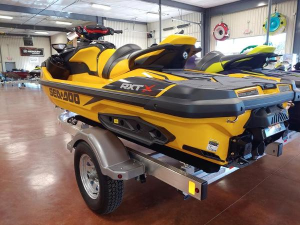 2021 Sea Doo PWC boat for sale, model of the boat is RXT®-X® 300 Millenium Yellow & Image # 4 of 4