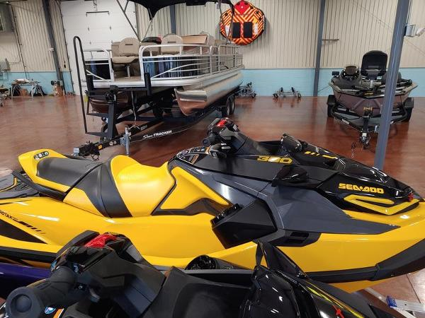 2021 Sea Doo PWC boat for sale, model of the boat is RXT®-X® 300 Millenium Yellow & Image # 1 of 4