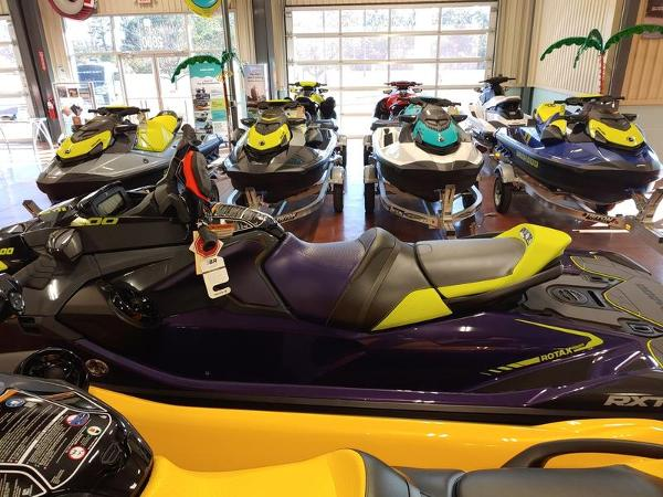 2021 Sea Doo PWC boat for sale, model of the boat is RXT®-X® 300 Midnight Purple & Image # 2 of 4