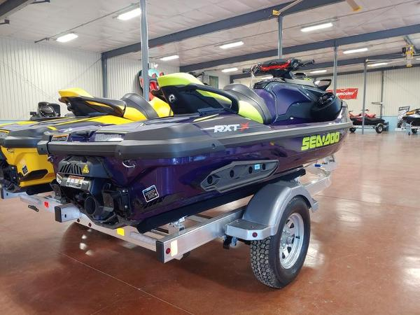 2021 Sea Doo PWC boat for sale, model of the boat is RXT®-X® 300 Midnight Purple & Image # 4 of 4