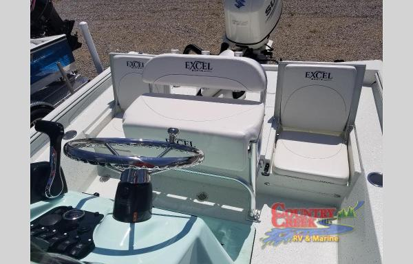 2021 Excel boat for sale, model of the boat is 220 Bay & Image # 5 of 9