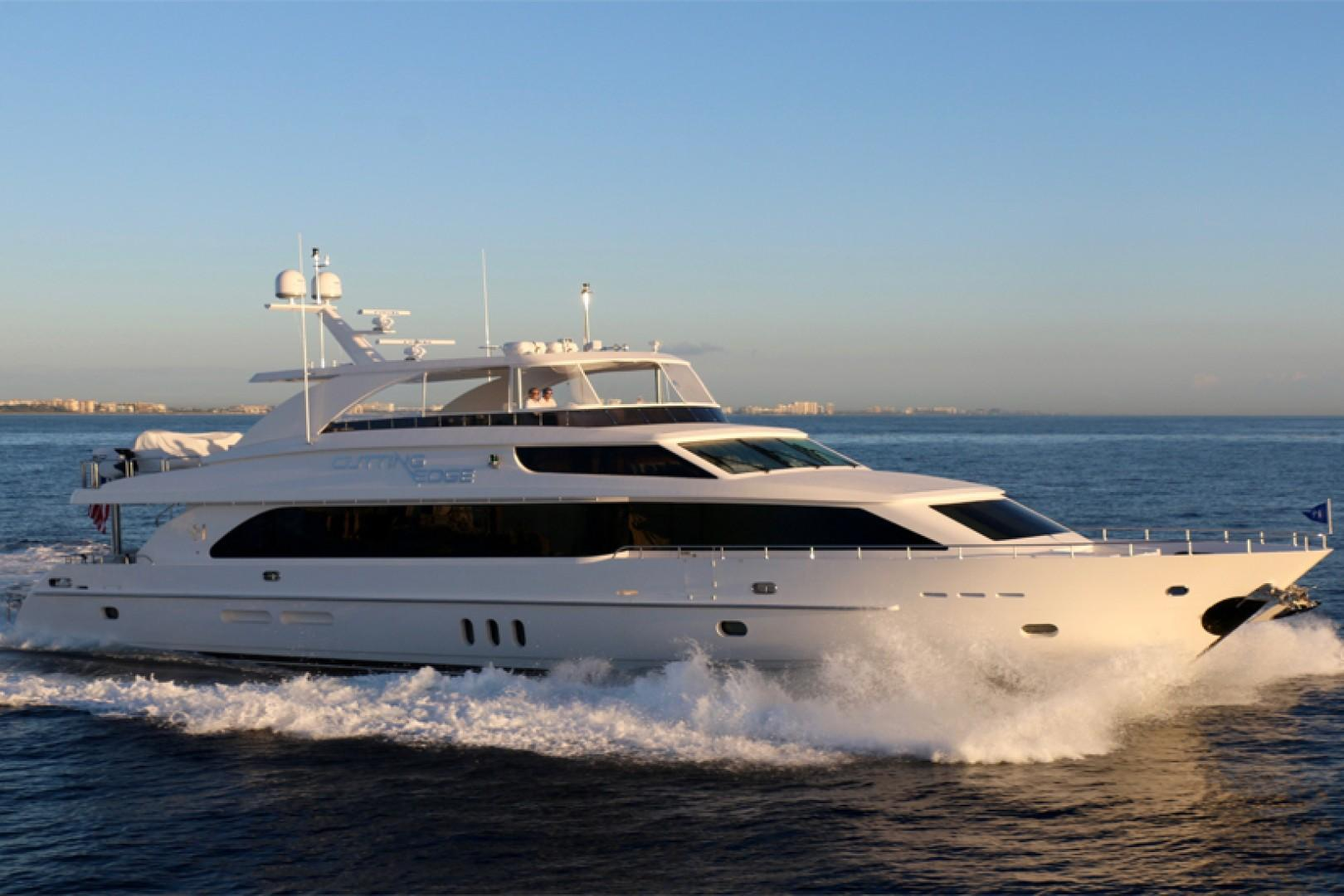 2016 Hargrave Yacht 101 Raised Pilothouse - Cutting Edge
