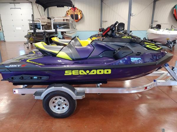2021 Sea Doo PWC boat for sale, model of the boat is RXT®-X® 300 Midnight Purple & Image # 1 of 4
