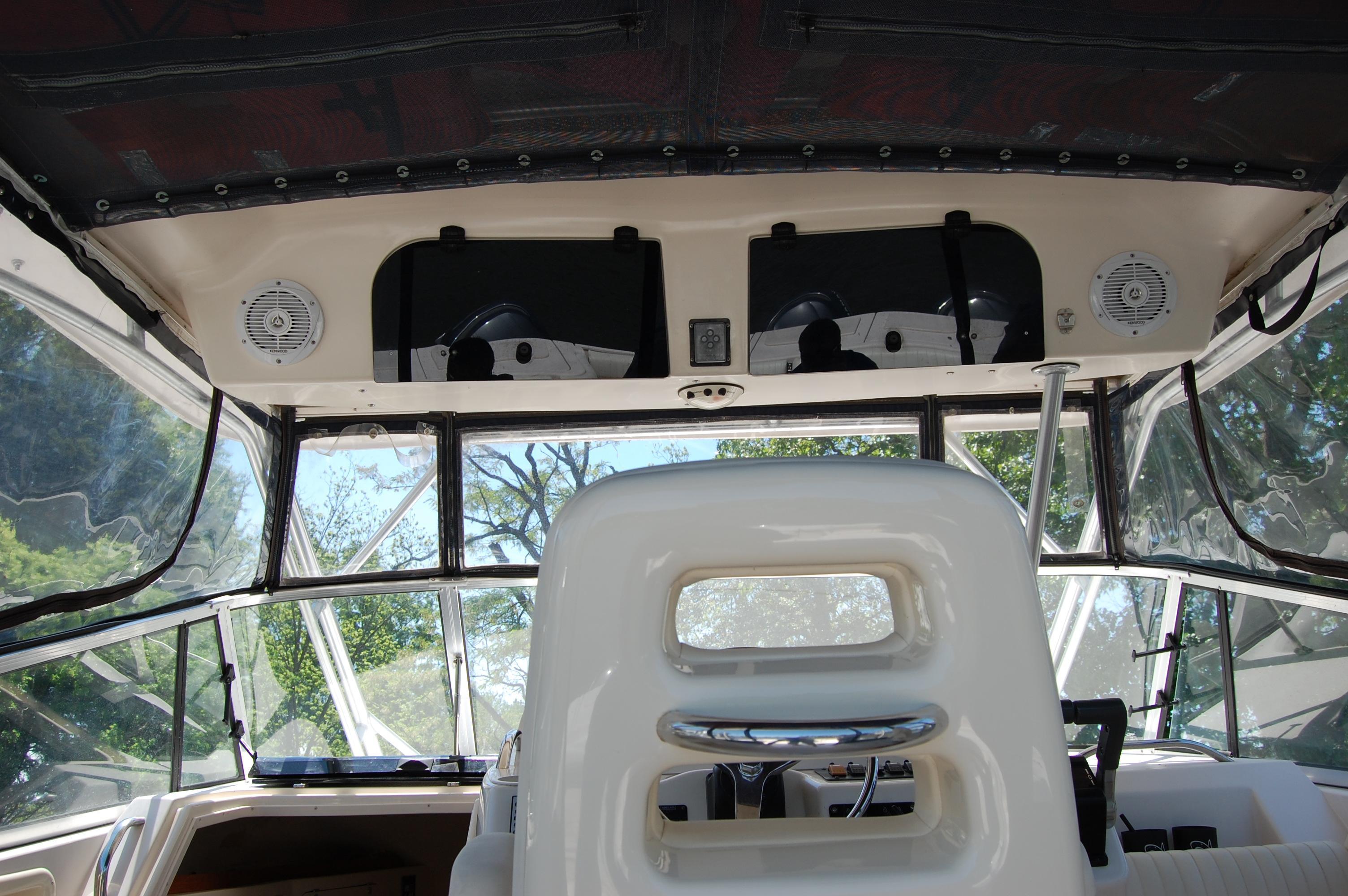 2002 Grady White 330 Express, Overhead Radio boxes