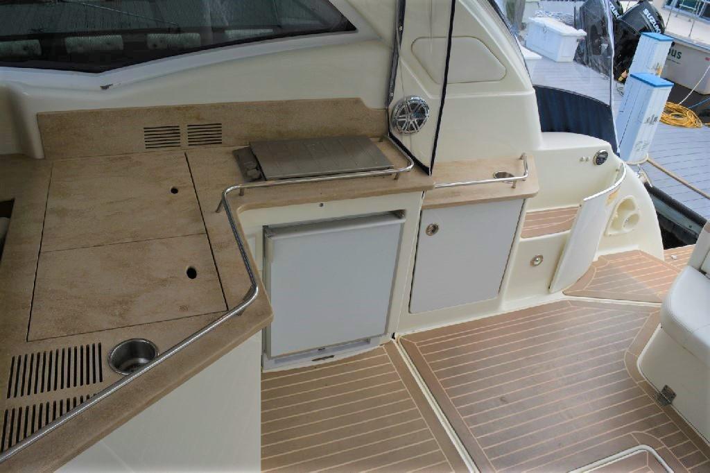 Formula 45 Yacht - Cockpit Galley