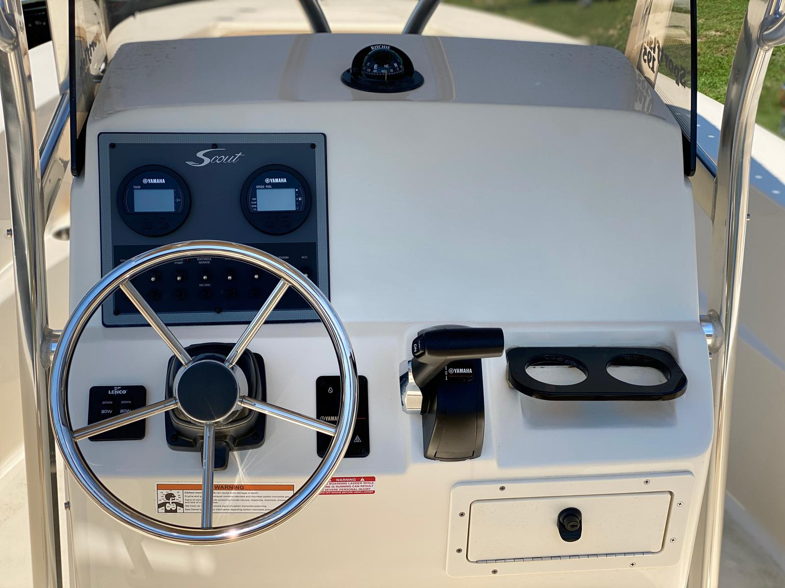 2019 Scout boat for sale, model of the boat is 195 Sportfish & Image # 7 of 10