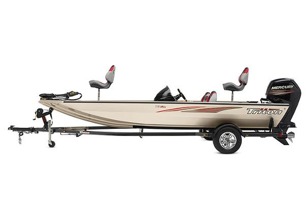 2020 Triton boat for sale, model of the boat is 18 TX & Image # 15 of 17