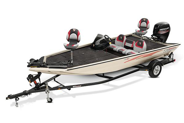 2020 Triton boat for sale, model of the boat is 18 TX & Image # 14 of 17