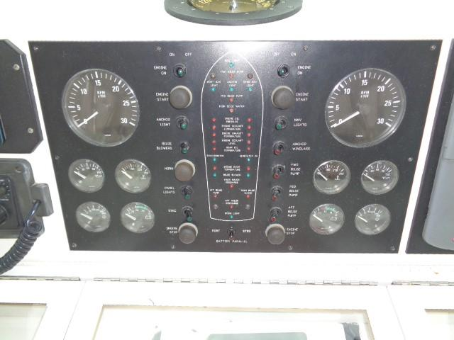 Viking 54 Motor Yacht - Port And Starboard Engine Gauges