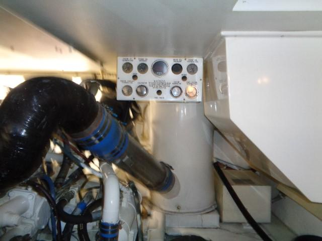 Viking 54 Motor Yacht - Engine Room
