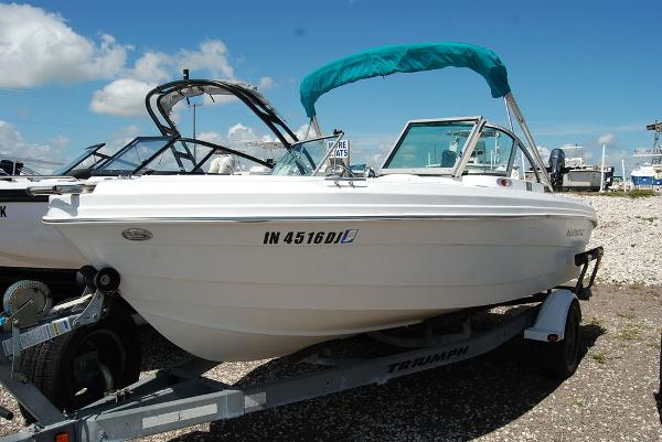 2008 Triumph boat for sale, model of the boat is 191 FS/LE & Image # 1 of 10