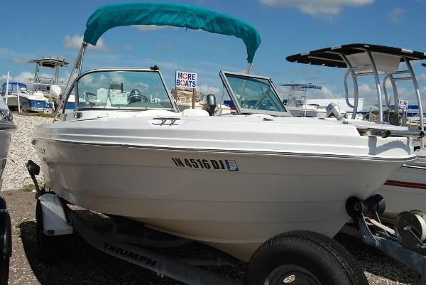 2008 Triumph boat for sale, model of the boat is 191 FS/LE & Image # 3 of 10