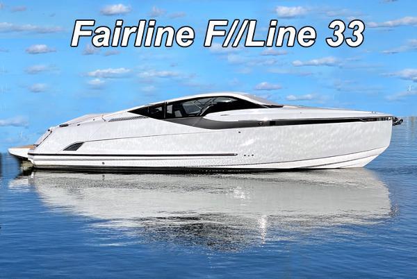 2021 Fairline F//Line 33