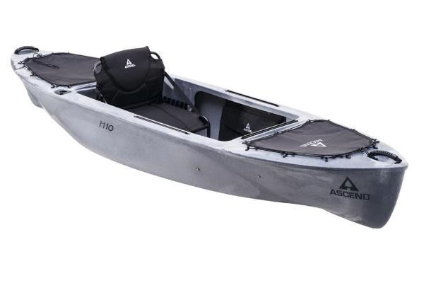 2019 Ascend boat for sale, model of the boat is H10 Hybrid Sit-In (Titanium) & Image # 1 of 6