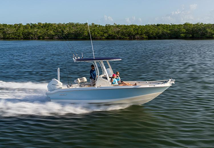 2022 Boston Whaler 220 Dauntless #2455070 inventory image at Sun Country Coastal in Newport Beach