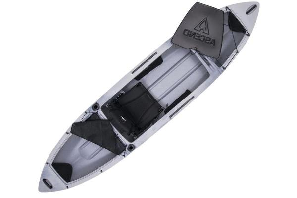 2019 Ascend boat for sale, model of the boat is H12 Hybrid Sit-In (Titanium) & Image # 4 of 6