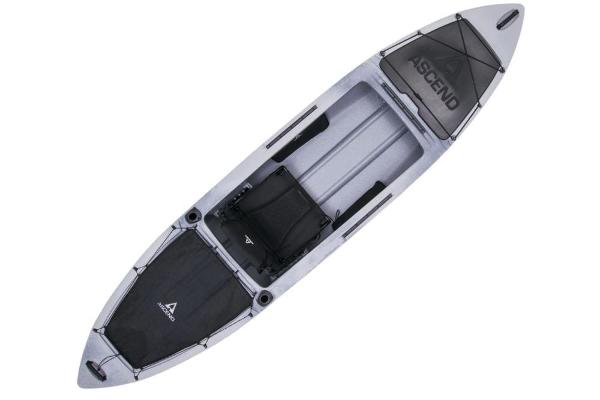 2019 Ascend boat for sale, model of the boat is H12 Hybrid Sit-In (Titanium) & Image # 6 of 6