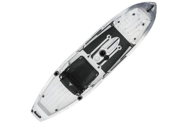 2019 Ascend boat for sale, model of the boat is 10T Sit-On (White/Black) & Image # 4 of 6