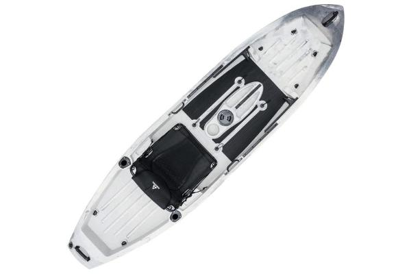 2019 Ascend boat for sale, model of the boat is 10T Sit-On (White/Black) & Image # 5 of 6