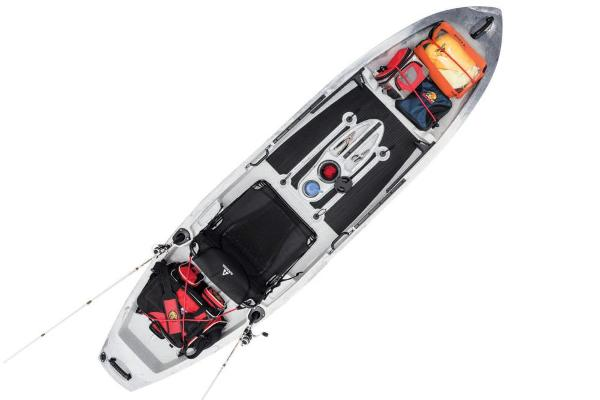 2019 Ascend boat for sale, model of the boat is 10T Sit-On (White/Black) & Image # 6 of 6