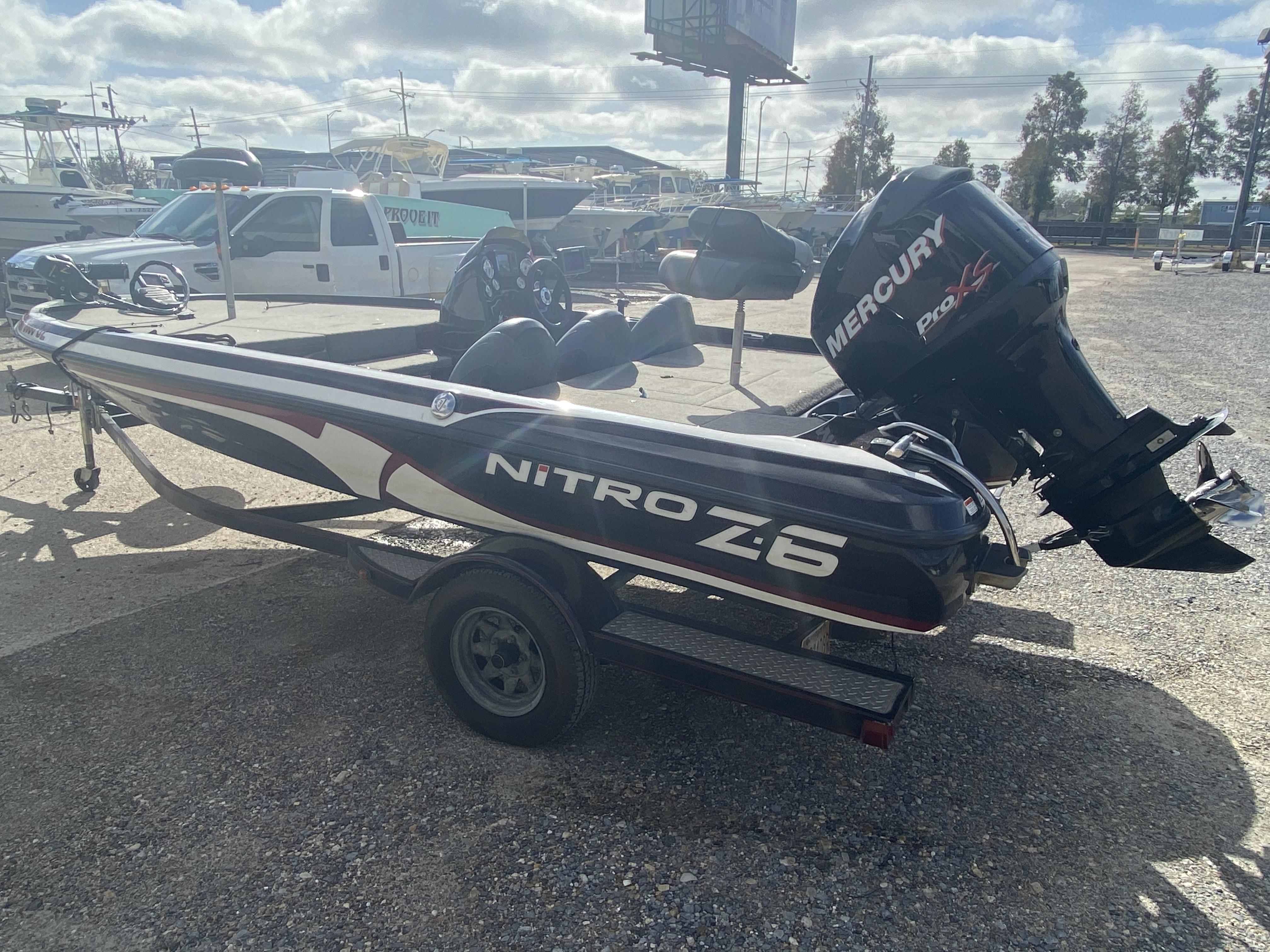2011 Nitro boat for sale, model of the boat is Z6 & Image # 16 of 18