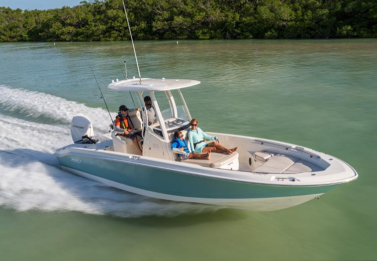 2021 Boston Whaler 250 Dauntless #2455077 inventory image at Sun Country Coastal in Newport Beach